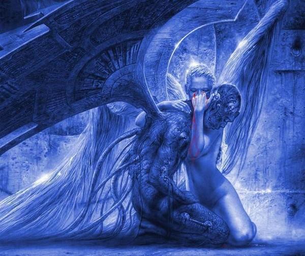 dans fond ecran anges bleus 168e649d