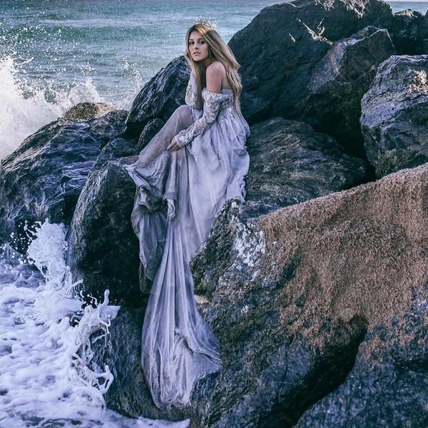 femme et la mer