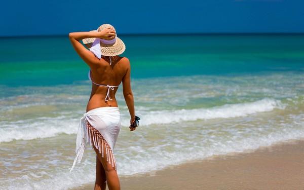 la plage, la mer, :)
