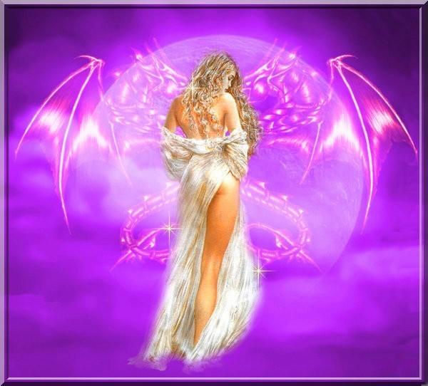 dans fond ecran ange violet 3be59551