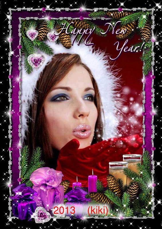 merci ma kiki bonne année 2013