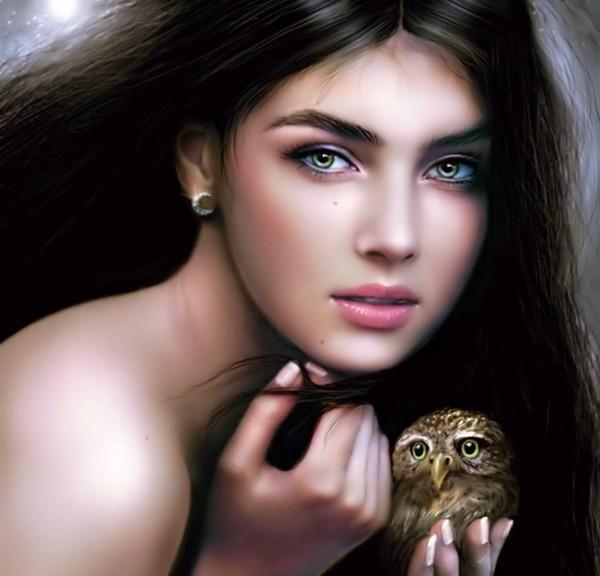 photo du belle femme