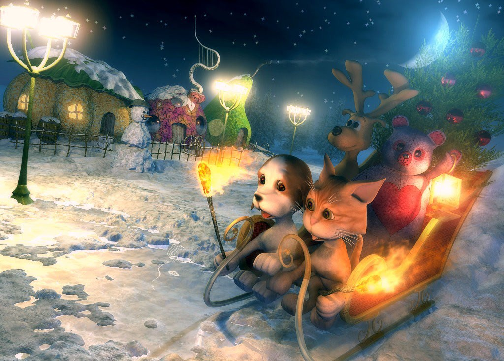 Fond D écran Vacances De Noël: FOND D ECRANS DE NOEL